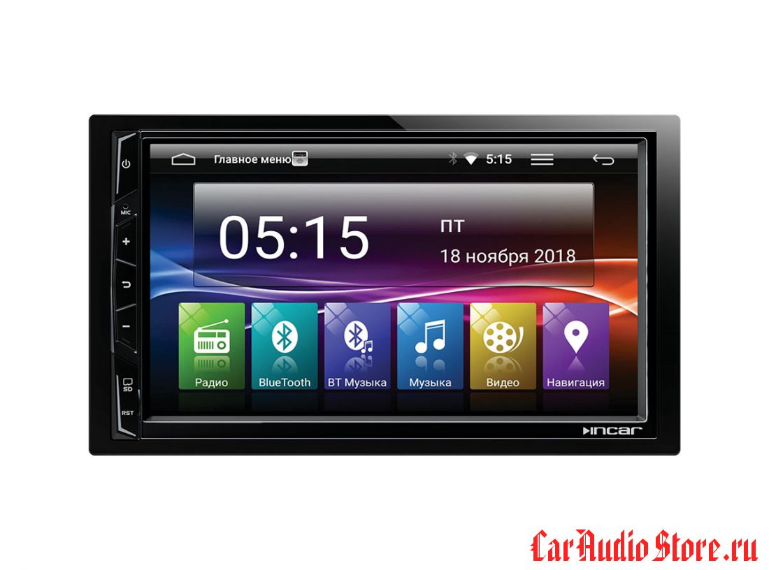 Incar AHR-7080 Universal 2din (Android 7.0) 7,0""