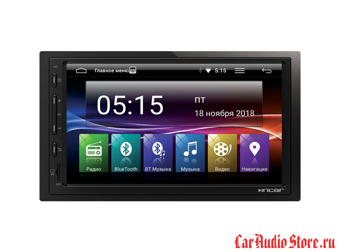 Incar AHR-7480 Universal 2din (Android 7.0) 7,0""