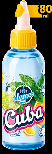 Жидкость ED-Lemo Cuba 80 мл