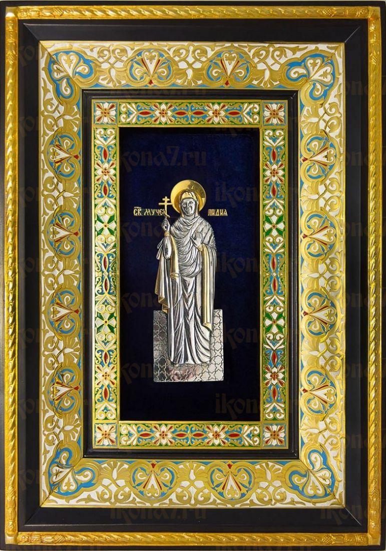 Лидия Иллирийская (29х40), серебро