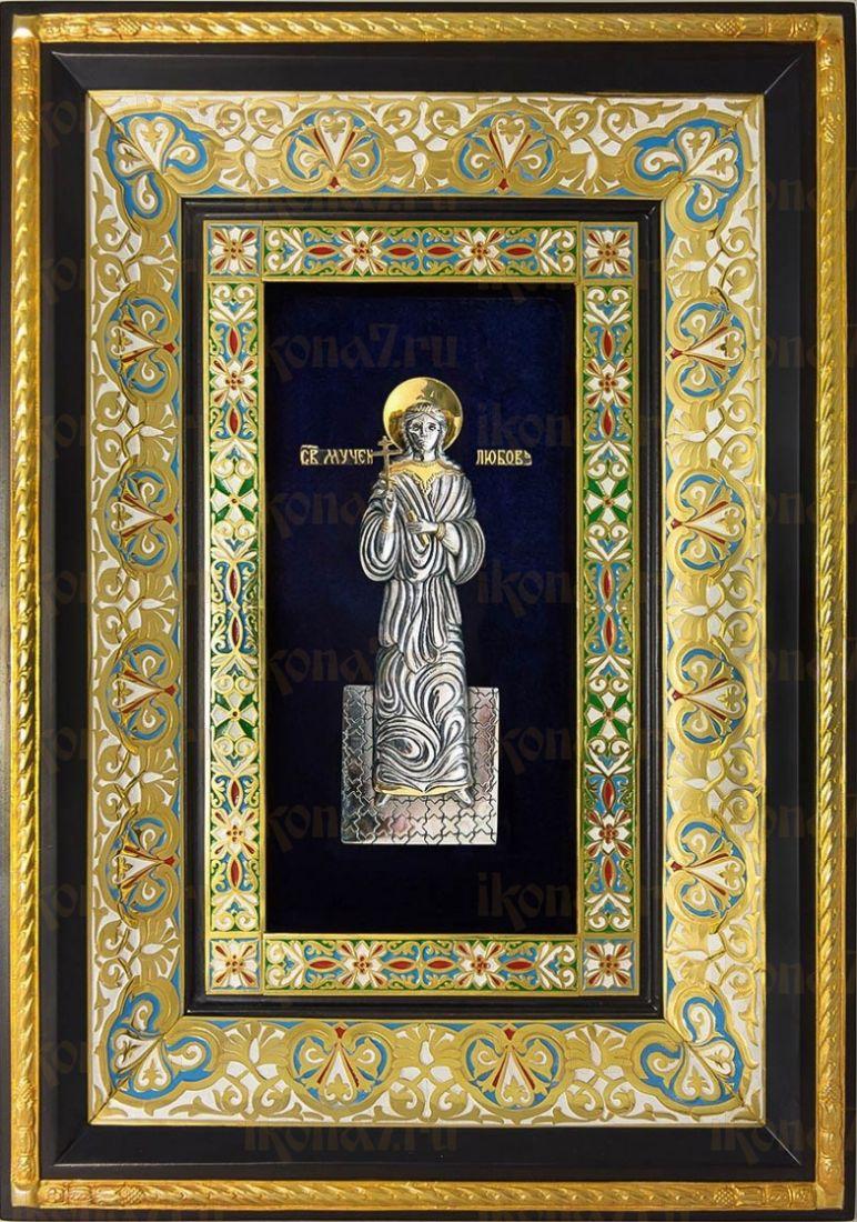 Любовь Римская (29х40), серебро
