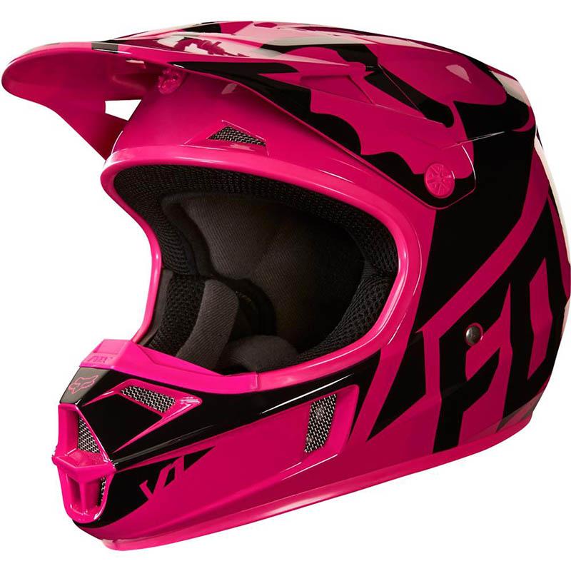 Fox - 2018 V1 Race Youth Helmet Pink шлем подростковый, розовый