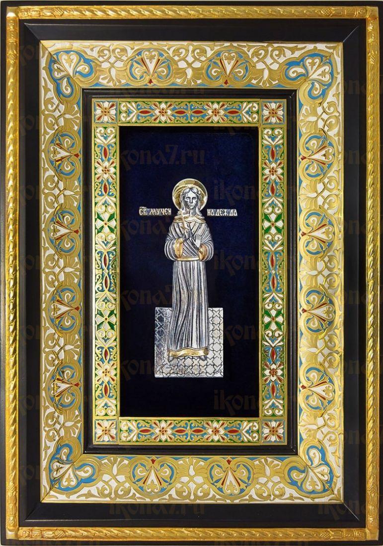 Надежда Римская (29х40), серебро