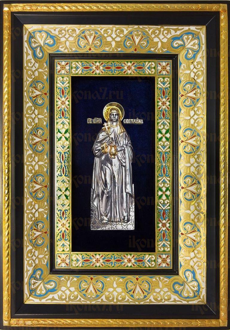 Светлана (Фотиния) Римская (29х40), серебро