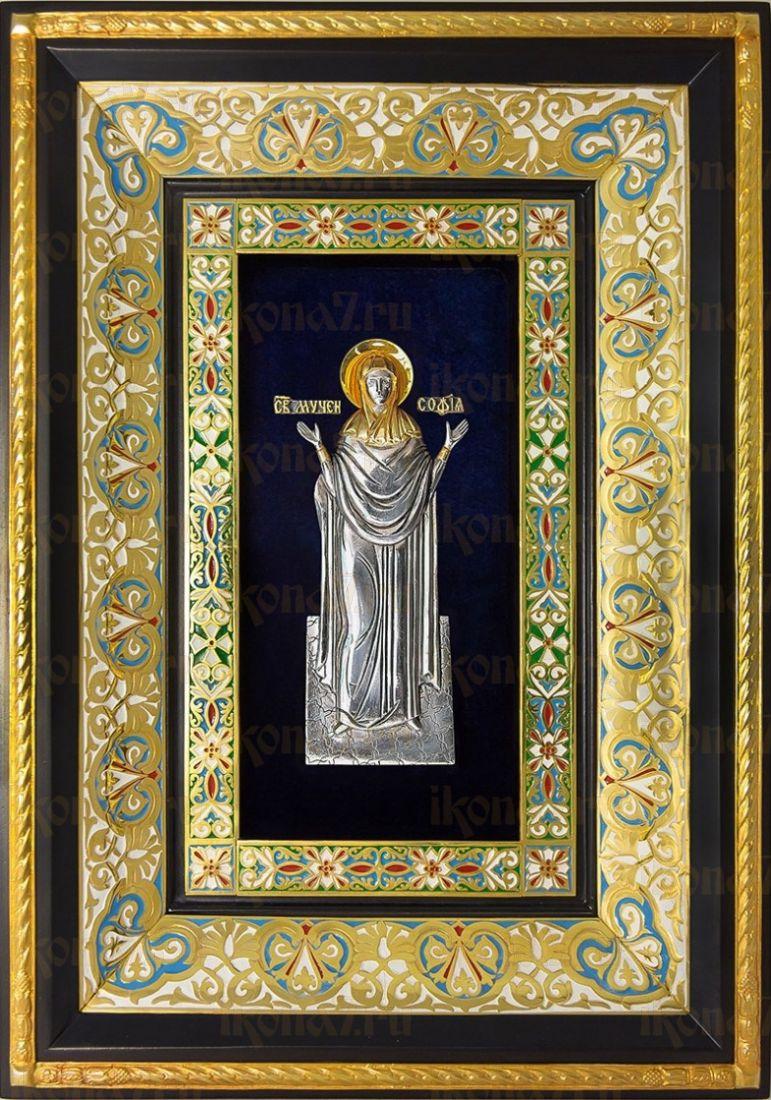 София Римская (29х40), серебро