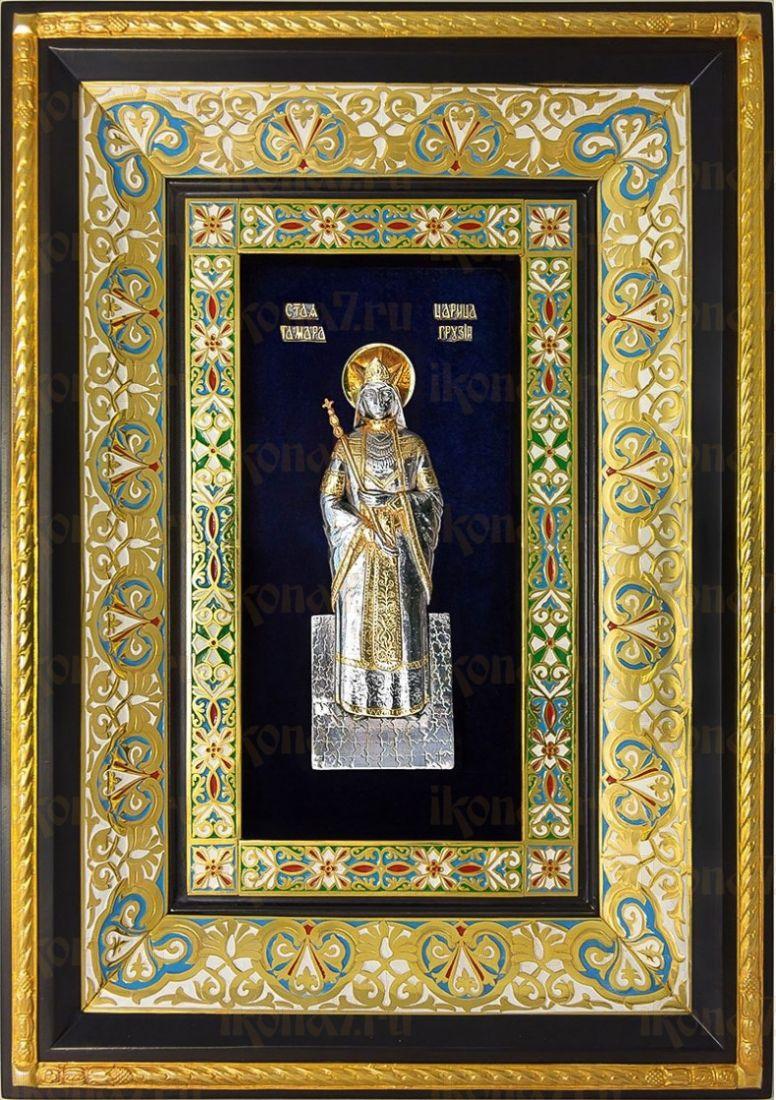 Тамара, царица (29х40), серебро