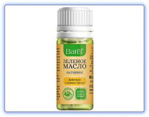 Нативное зеленое масло
