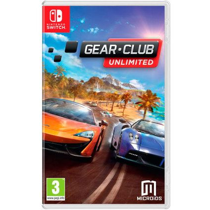Игра Gear - Club Unlimited (Nintendo Switch)