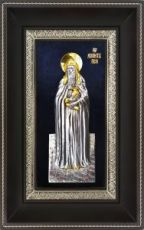 Агапит Печерский (18х29), серебро
