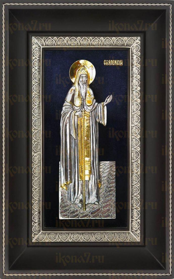 Алексий Московский (18х29), серебро