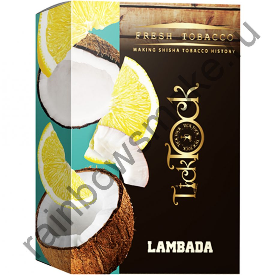 Tick Tock Hookah 100 гр - Lambada (Coconut & Lemon) (Кокос и Лимон)