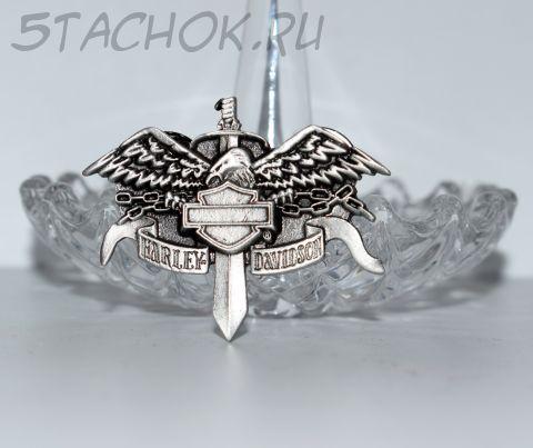 "Брошь ""Harley Davidson эмблема"" (H-D США)"