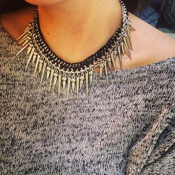 Колье Evita Peroni 5855985. Коллекция Camden Town Silver