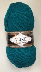 LANAGOLD (ALIZE) 640-павлиновая зелень