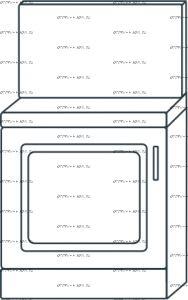 Тумба 1-дверная с мягким сиденьем, со спинкой мод.7 Ждана