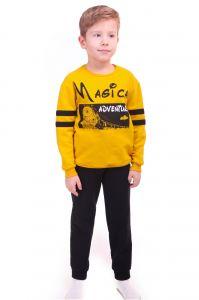 джемпер и брюки для мальчика из футера