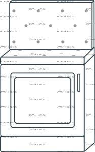 Тумба 1-дверная с мягким сиденьем, утяжка пуговицами, со спинкой мод.13 Ждана