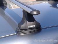 Багажник на крышу Opel Zafira Tourer С, 2011-, Атлант, аэродинамические дуги, опора Е