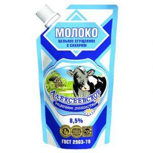 ..Молоко сгущенное Алексеевское с сахаром 8.5% 270 г