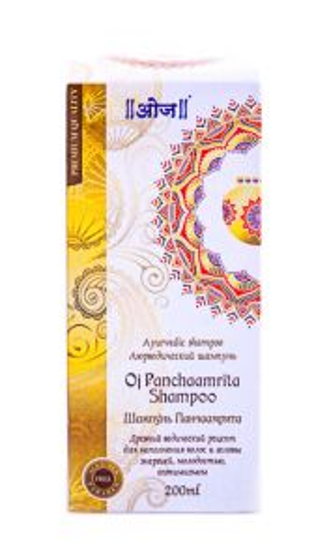 Шампунь Одж Панчаамрита | 200 мл | Oj Panchaamrita