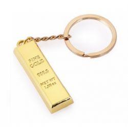 Брелок золотой слиток