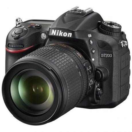 Зеркальный фотоаппарат Nikon D7200 Kit 18-105mm VR