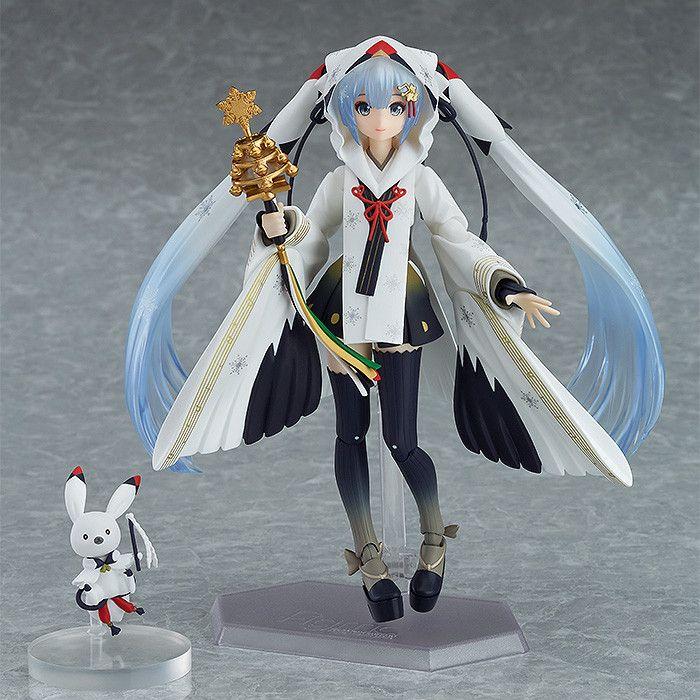 Figma Snow Miku Crane Priestess Ver.
