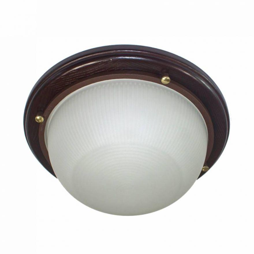 Светильник влагозащищенный Самарканд 1301 60W венге
