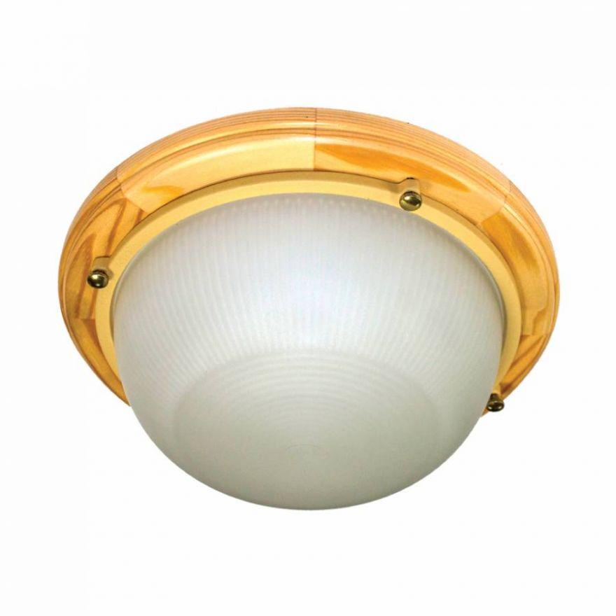 Светильник влагозащищенный Самарканд 1301 60W сосна