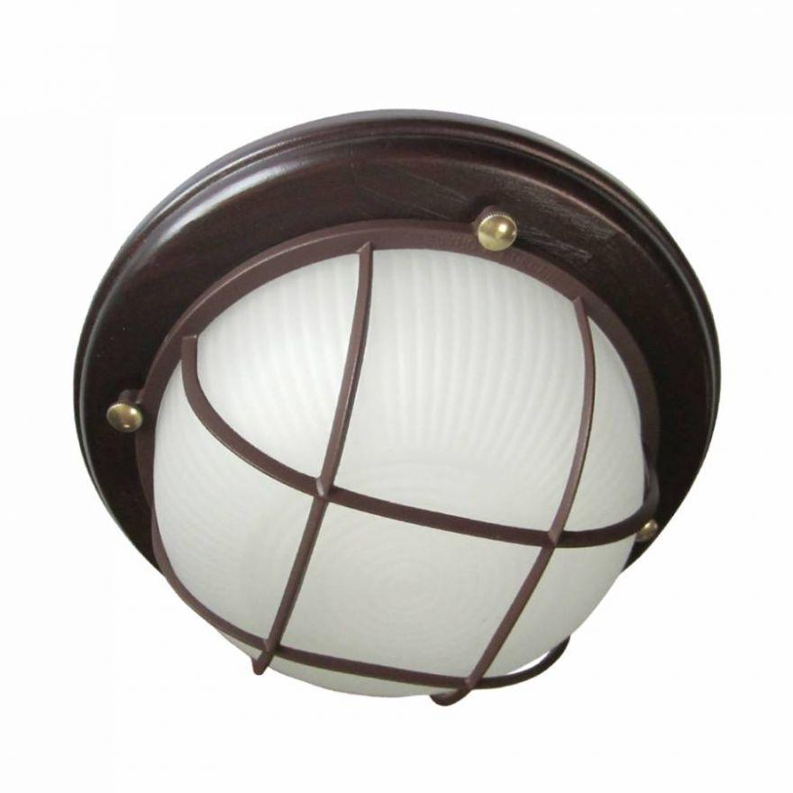 Светильник влагозащищенный Самарканд 1302 60W  венге