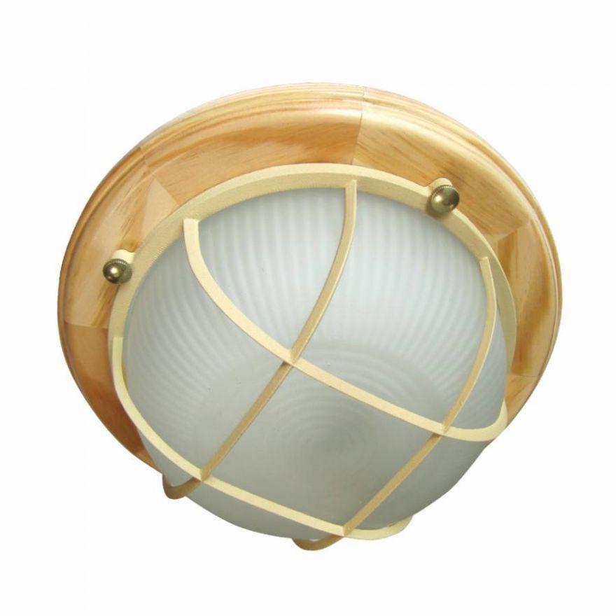 Светильник влагозащищенный Самарканд 1302 60W сосна