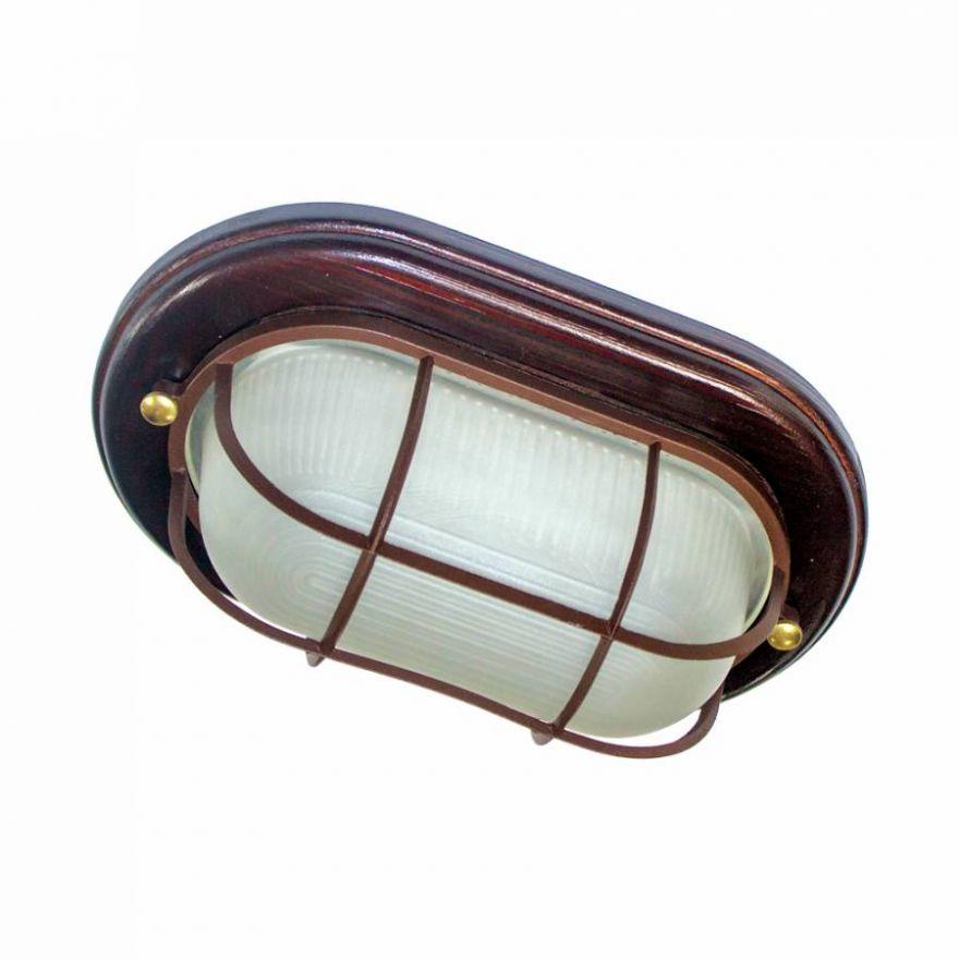 Светильник влагозащищенный Самарканд 1402 60W венге