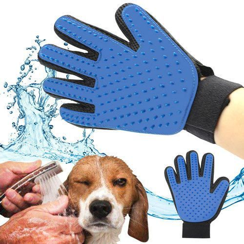 Перчатка для вычёсывания шерсти True Touch
