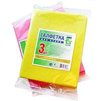 Салфетки вискозные (3 шт. ) 30*40 см