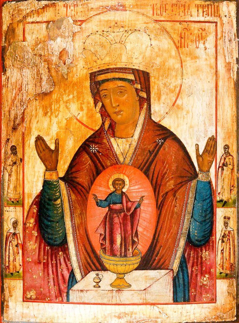 Никейская икона Божией Матери (копия 19 века)