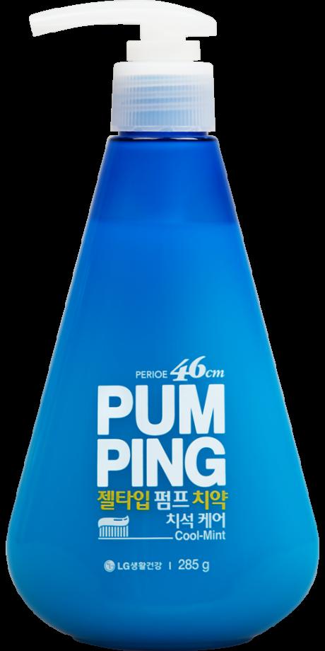 Зубная паста PERIOE Original Pumping Toothpaste (Экстра мята) 285 г