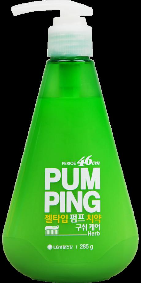 Зубная паста освежающая Breath Care Pumping Toothpaste, 285 г