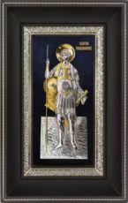 Георгий Победоносец (18х29), серебро