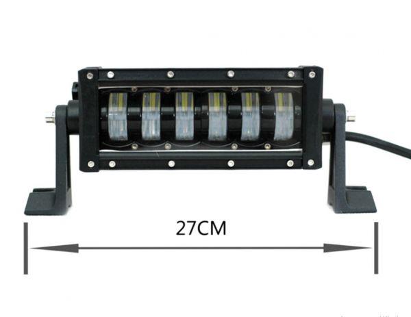 Комбинированная светодиодная фара ближний + дальний 48W CREE