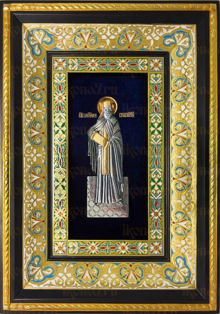 Григорий (29х40), серебро