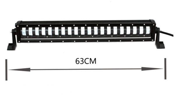 Комбинированная светодиодная фара ближний + дальний 160W CREE