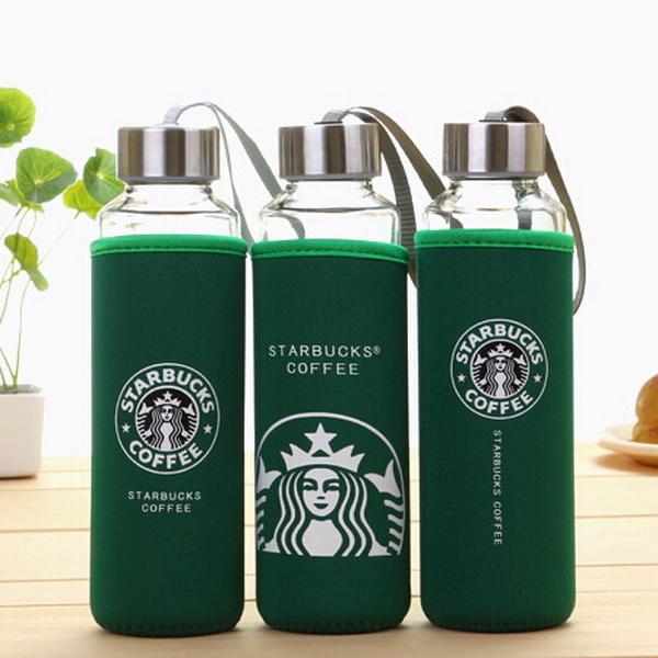 Бутылка с чехлом Starbacks (К)