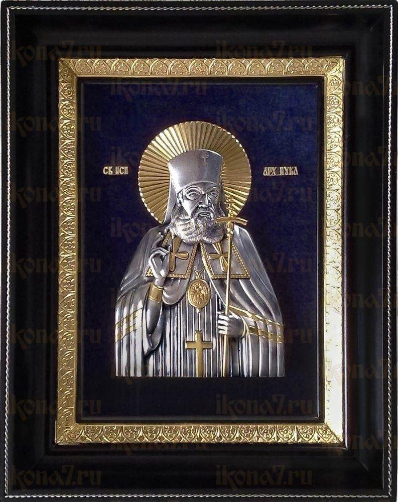 Лука Крымский (24х31), серебро