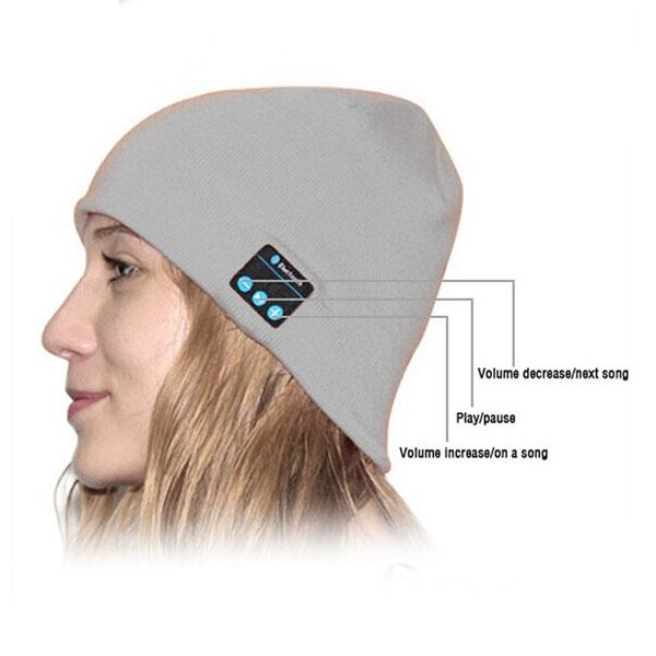 Комплект шапка+перчатки с мп3 (К)