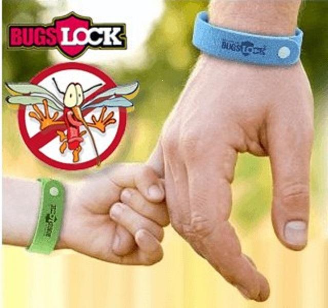 Браслет от комаров bugs lock (К)