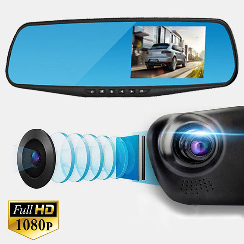 Камера-зеркало в машину full hd (К)