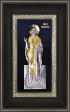 Николай Чудотворец (Угодник) (18х29), серебро