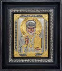 Николай Чудотворец (23х27), серебро