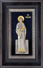 Пантелеймон Целитель (18х29), серебро