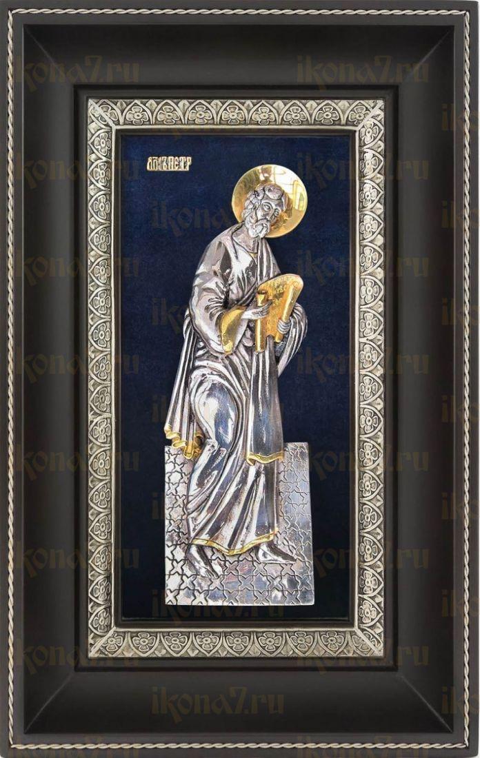 Петр, апостол (18х29), серебро